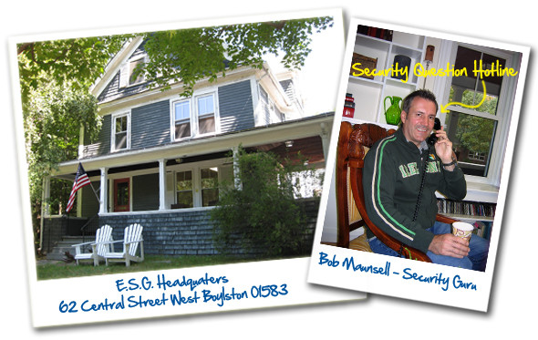 Contact ESG - Security Systems Worcester