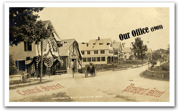 ESG's Office in 1908