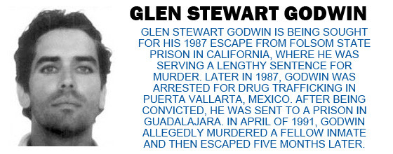 Fbi Fugitive Glen Stewart Godwin Electronic Security Group
